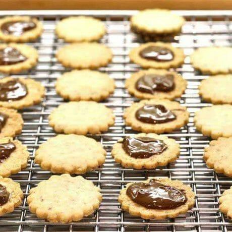 Sablés fondant au Nutella