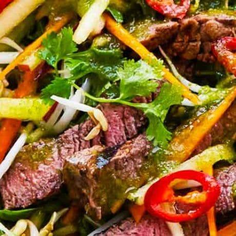 Bœuf en salade