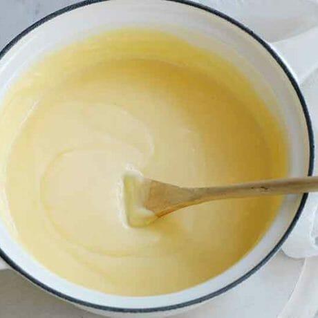 Crème patissière légère