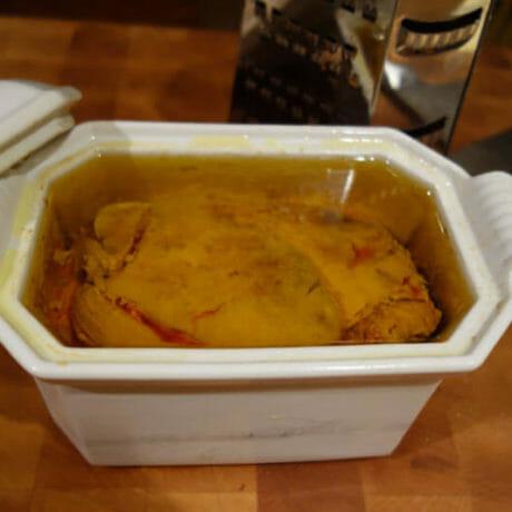 Foie gras sans cuisson