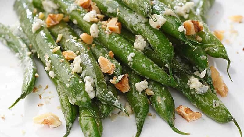 Haricots verts au fromage - Les recettes de Cuisine Facile ...