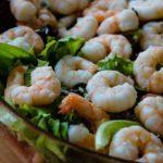 salade de crevettes à la batavia