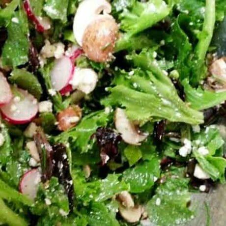 Salade Fraîcheur aux champignons