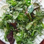 Salade verte sauce yaourt