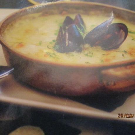 gratin de poisson aux poireaux