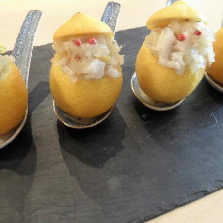 Citrons farcis à la tahitienne