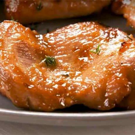 Cuisses de poulet désossées au four