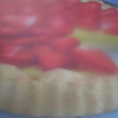 Tarte aux fraises crème pâtissière