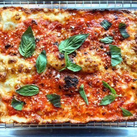 Pizza à la sicilienne