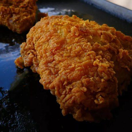 Poulet grillé croustillant
