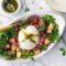 Salade mozzarella burrata