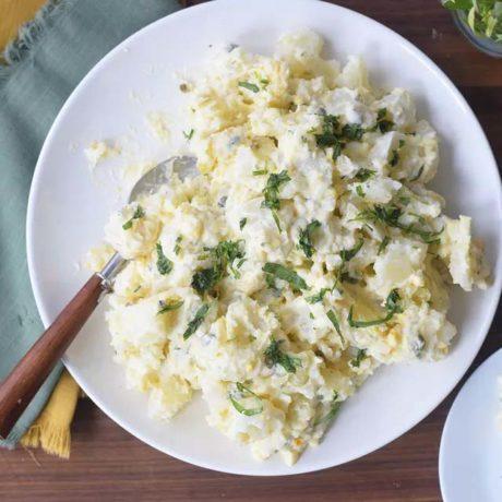 Salade de pommes de terre crémeuse